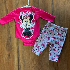 3/$15 2-Piece Outfit Minnie Mouse